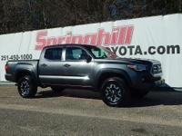 Ready to go Off Road? Dont let this 2016 Tacoma TRD 4x4