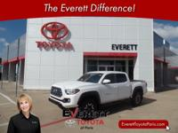 Recent Arrival! 2016 Toyota Tacoma TRD Offroad White V6