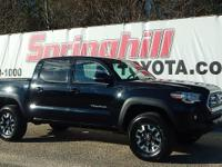 Dont miss out on this hard to find 2016 Tacoma TRD 4X4.