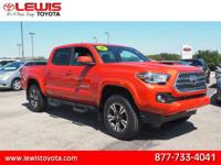 Options:  2016 Toyota Tacoma Sr V6|4X4 Sr V6 4Dr Double