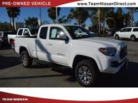 Options:  2016 Toyota Tacoma Sr5|White/|V4 2.7 L