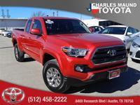 Tacoma SR5, Toyota Certified, 4D Access Cab, 2.7L I4