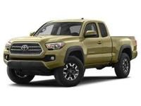 Recent Arrival! 4WD. 2016 Toyota Tacoma SR5 4WD 6-Speed