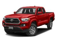 Tacoma SR5, 6-Speed Automatic, and 4WD. Gently used.