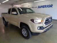 Tacoma SR5, 4D Access Cab, 6-Speed Automatic, and 4WD.