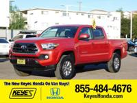 Options:  2016 Toyota Tacoma Sr5|Red/Gray|V6 3.5 L