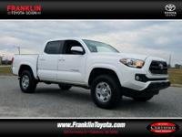 Tacoma SR5 V6 and 4D Double Cab. Drive this home today!