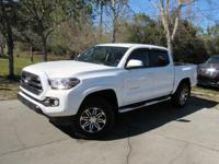 This 2016 Toyota Tacoma 4dr SR5 Double Cab 2WD V6
