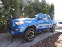CERTIFIED DOUBLE CAB TACOMA. ONE OWNER, WELL