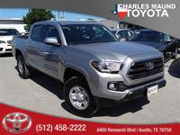 Tacoma SR5 V6 and 4D Double Cab. Short Bed! Come to the