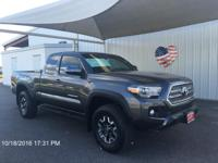 Introducing the 2016 Toyota Tacoma! Feature-packed and