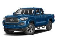 Tacoma TRD Offroad V6, 4D Access Cab, and 4WD. Low