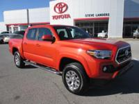 Recent Arrival! 2016 Toyota Tacoma SR5 V6 V6 Orange