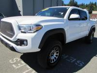 TRD Off Road trim. FUEL EFFICIENT 23 MPG Hwy/18 MPG