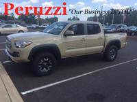 CARFAX One-Owner. Clean CARFAX. Sand 2016 Toyota Tacoma