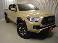 Recent Arrival! 2016 Toyota Tacoma Quicksand CARFAX