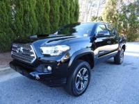 We are excited to offer this 2016 Toyota Tacoma. 4x4