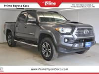 CARFAX One-Owner! Toyota Certified! 2016 Toyota Tacoma