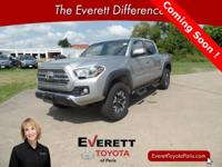 Recent Arrival! 2016 Toyota Tacoma TRD Offroad Silver