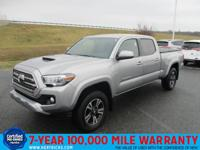 Check out this gently-used 2016 Toyota Tacoma we