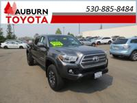 1 OWNER, LOW MILES, 4WD!!  This 2016 Toyota Tacoma