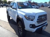 Introducing the 2016 Toyota Tacoma! A great truck at a