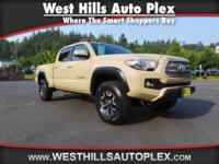TACOMA TRD OFFROAD DOUBLE CAB 4WD V6  Options:  Abs