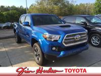 Options:  2016 Toyota Tacoma Trd Sport. Drive Home In