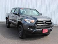 Options:  2016 Toyota Tacoma Sr|Gray|4Wd.