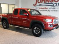 New Price! 2016 Barcelona Red Metallic Toyota Tacoma