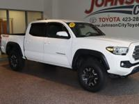 New Price! 2016 Super White Toyota Tacoma CHECK