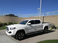 With only 4,400 miles on this 2016 Tacoma, you can
