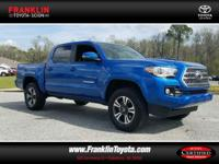 Tacoma TRD Sport V6, Toyota Certified, 4D Double Cab,