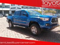 Options:  2016 Toyota Tacoma Trd Sport|Blazing Blue