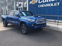 2016 Toyota Tacoma TRD Sport Blue RWD 6-Speed Automatic