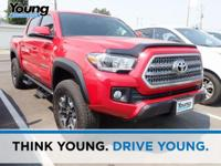 2016 Toyota Tacoma TRD Sport Barcelona Red Metallic 4WD
