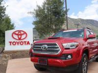 4WD. Clean CARFAX. 2016 Toyota Tacoma TRD Sport 4D