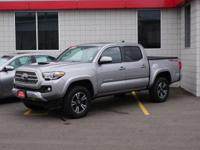 CARFAX One-Owner. Certified. Silver 2016 Toyota Tacoma
