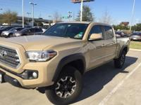We are excited to offer this 2016 Toyota Tacoma. Your