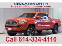 New Price! This 2016 Toyota Tacoma TRD Sport in Inferno