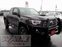 2016 Toyota Tacoma TRD Sport Black Toyota Certified
