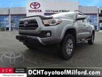 CARFAX 1-Owner, Toyota Certified. SR5 trim, SILVER SKY