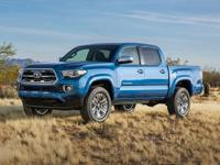 Toyota Tacoma Black V6 2016 Certified. Toyota Combined