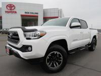 This 2016 Toyota Tacoma comes equipped with satellite