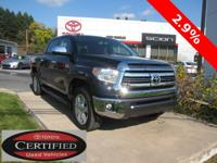 ONE OWNER!! 2016 TOYOTA TUNDRA 1794!! 4WD, CREWMAX,