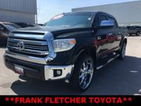Black Toyota Tundra 1794 ****ANOTHER FLETCHER 1-OWNER