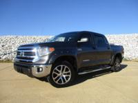CARFAX One-Owner. Clean CARFAX. Gray 2016 Toyota Tundra