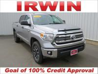 4WD! TOYOTA CERTIFIED! LOW MILES! CLEAN VEHICLE HISTORY