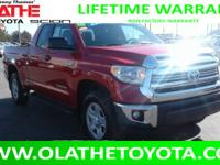 LIFETIME POWERTRAIN WARRANTY AND VERY LOW MILES ON THIS