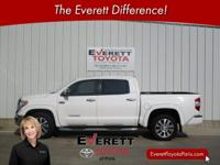 Recent Arrival! 2016 Toyota Tundra Limited White 5.7L